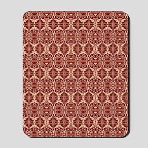 Elegant Red Vintage Mousepad