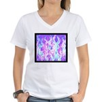 Minister SisterFace Graphic Women's V-Neck T-Shirt