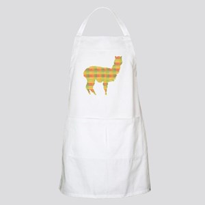 Plaid Alpaca BBQ Apron