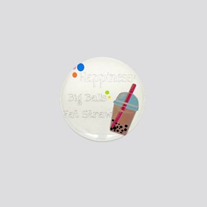 Bubble Tea, Happiness: Big Balls  A Fa Mini Button