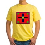 HRHSF Shield Graphic Yellow T-Shirt
