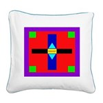 HRHSF Shield Graphic Square Canvas Pillow