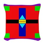 HRHSF Shield Graphic Woven Throw Pillow