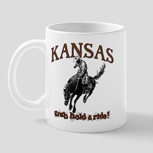 Kansas Grab Hold... Mug