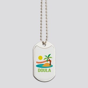 Retired Doula Dog Tags
