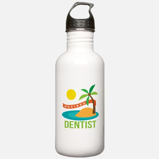 Retired Dentist Water Bottle