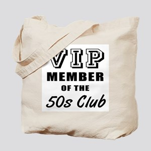50's Club Birthday Tote Bag