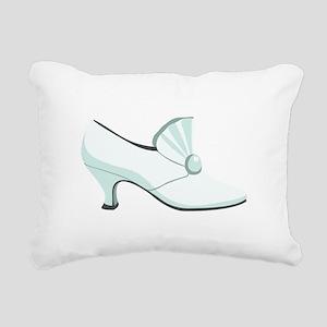 Bridal Wedding Shoe Rectangular Canvas Pillow