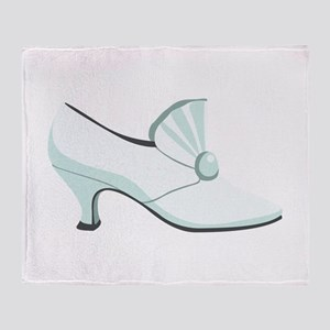 Bridal Wedding Shoe Throw Blanket