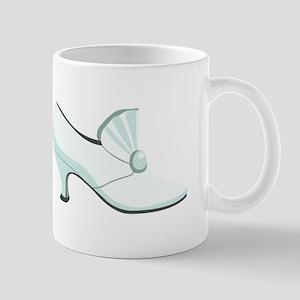 Bridal Wedding Shoe Mugs