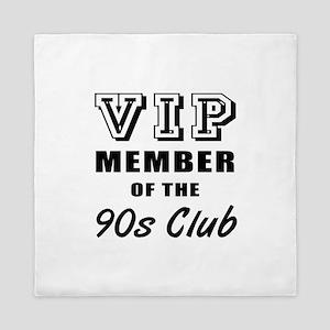 90's Club Birthday Queen Duvet