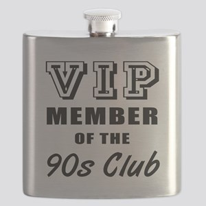 90's Club Birthday Flask