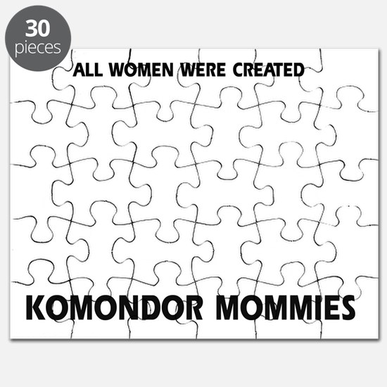Komondor dog breed designs Puzzle