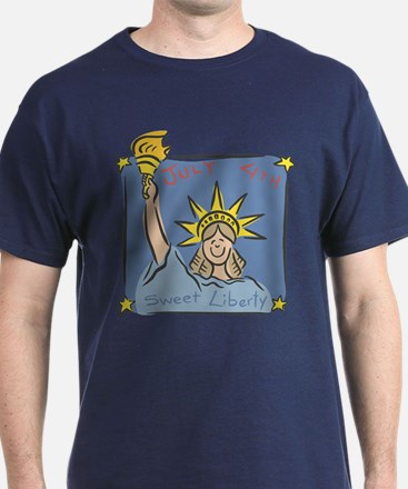 July 4th Sweet Liberty T-Shirt