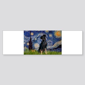 5.5x7.5-Starry-MinPin2-Nat Bumper Sticker