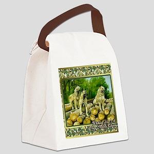 Belgian Laekenois Dog Christmas Canvas Lunch Bag