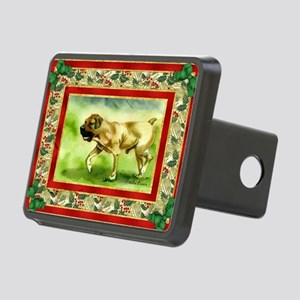 Boerboel Dog Christmas Rectangular Hitch Cover