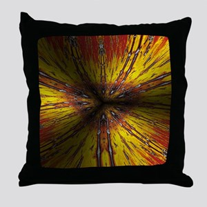 full emotion red Throw Pillow
