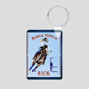 Barrel Horses Keychains