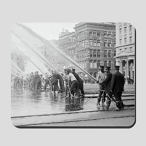 New York City Firemen Mousepad