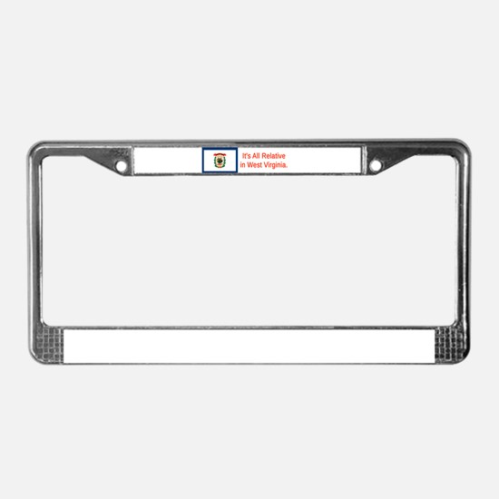 West Virginia #3 License Plate Frame