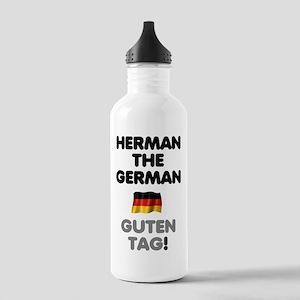 HERMAN THE GERMAN! Sports Water Bottle