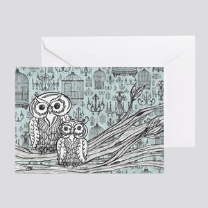 Owls 46 Greeting Card