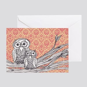 Owls 47 Greeting Card