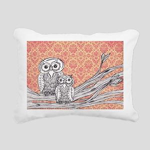 Owls 47 Rectangular Canvas Pillow