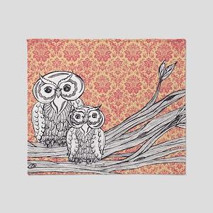 Owls 47 Throw Blanket