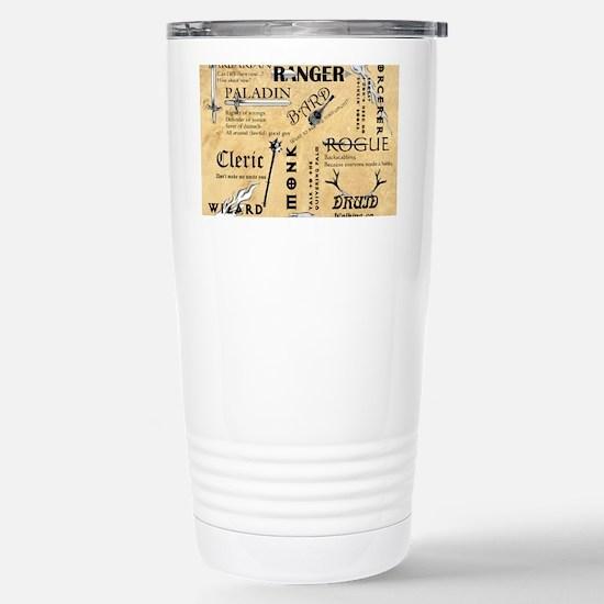 Classes Stainless Steel Travel Mug