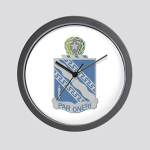 DUI - 144th Infantry Regiment Wall Clock
