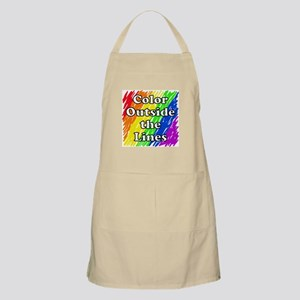 Color Outside the Lines Apron