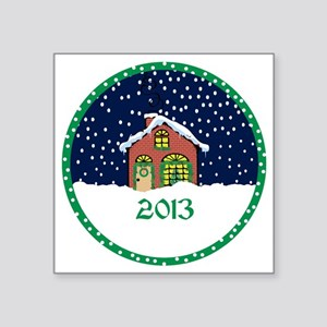 "2013 Square Sticker 3"" x 3"""