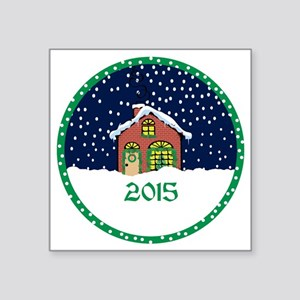 "2015 Square Sticker 3"" x 3"""