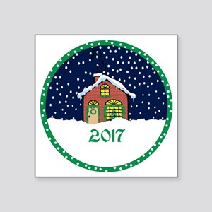 "2017 Square Sticker 3"" x 3"""