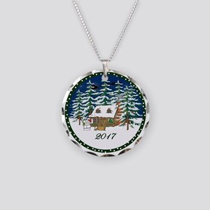 2017 Necklace Circle Charm