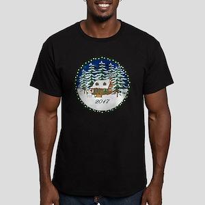 2017 Men's Fitted T-Shirt (dark)