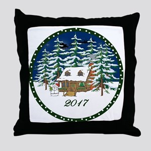 2017 Throw Pillow