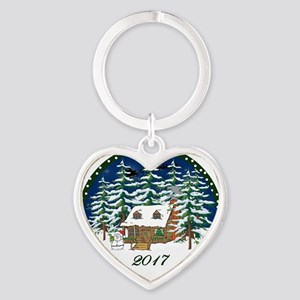 2017 Heart Keychain