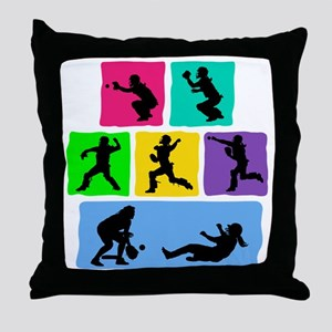 OUT! Throw Pillow
