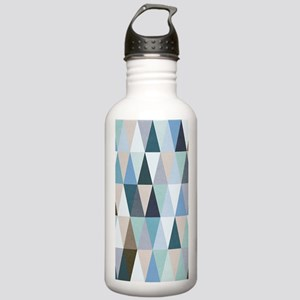 Geometric Pattern Stainless Water Bottle 1.0L