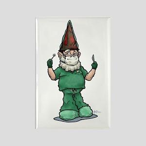 Surgeon Gnome Rectangle Magnet