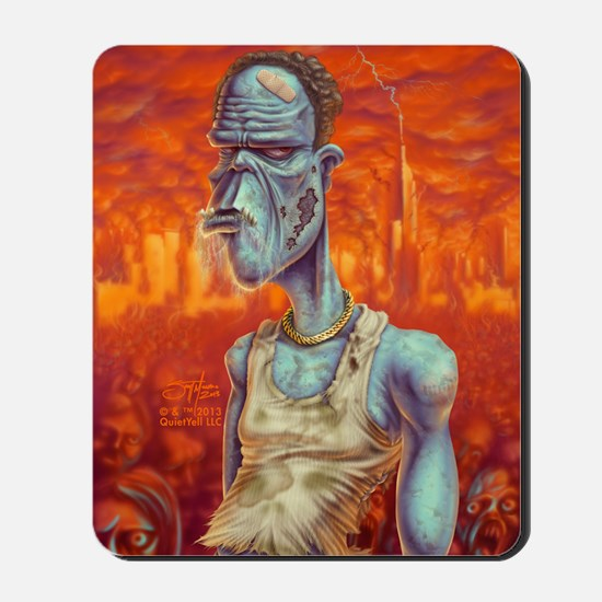 Kindle_ZombiePortrait_FullBody Mousepad