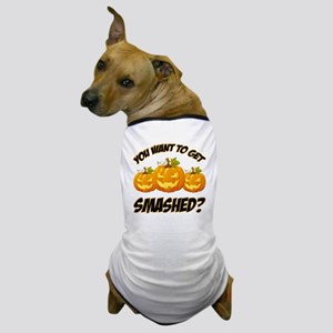 Smashed  Happy Halloween Dog T-Shirt