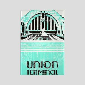 Union Terminal Rectangle Magnet