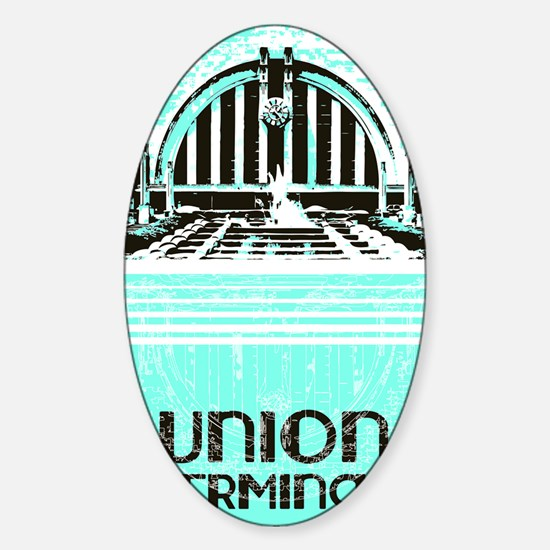 Union Terminal Sticker (Oval)