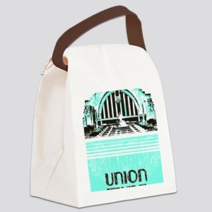Union Terminal Canvas Lunch Bag