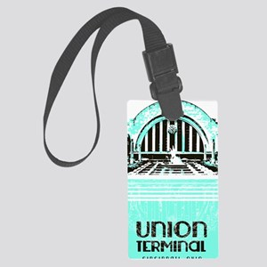 Union Terminal Large Luggage Tag