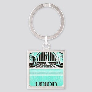 Union Terminal Square Keychain